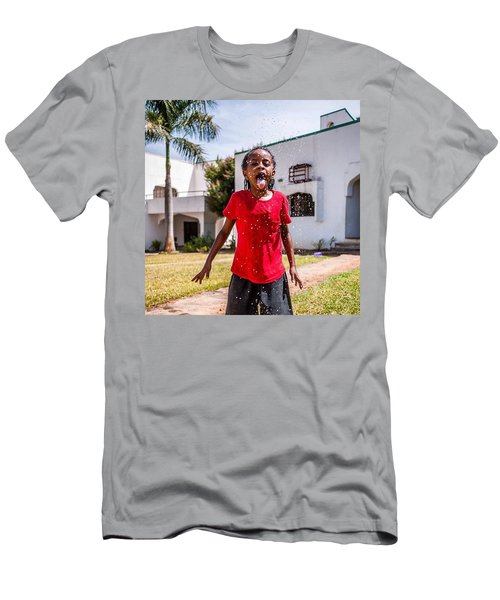 Water Fun, Nigeria Men's T-Shirt (Athletic Fit)