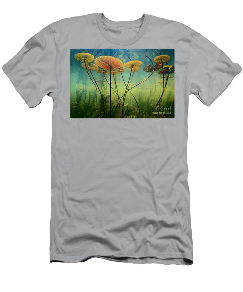Water Lilies Men's T-Shirt (Athletic Fit)