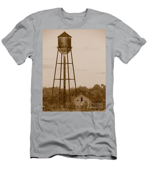 Water Tower Men's T-Shirt (Athletic Fit)