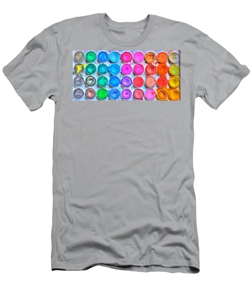 Watercolor Men's T-Shirt (Athletic Fit)