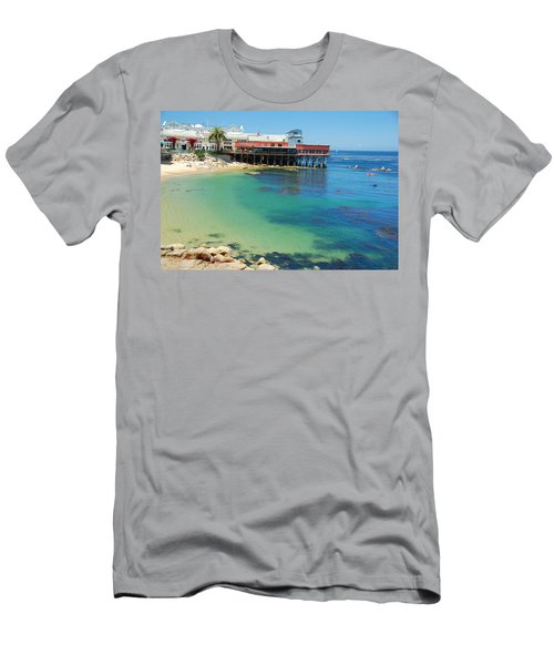Waterfront At Cannery Row Men's T-Shirt (Athletic Fit)