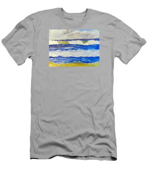 Wave At Bulli Beach Men's T-Shirt (Athletic Fit)