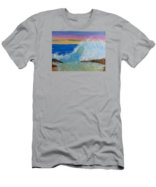 Wave At Sunrise Men's T-Shirt (Athletic Fit)