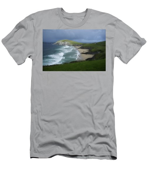 Waves Ring Of Dingle Men's T-Shirt (Athletic Fit)
