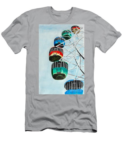 Way Up In The Sky Men's T-Shirt (Athletic Fit)