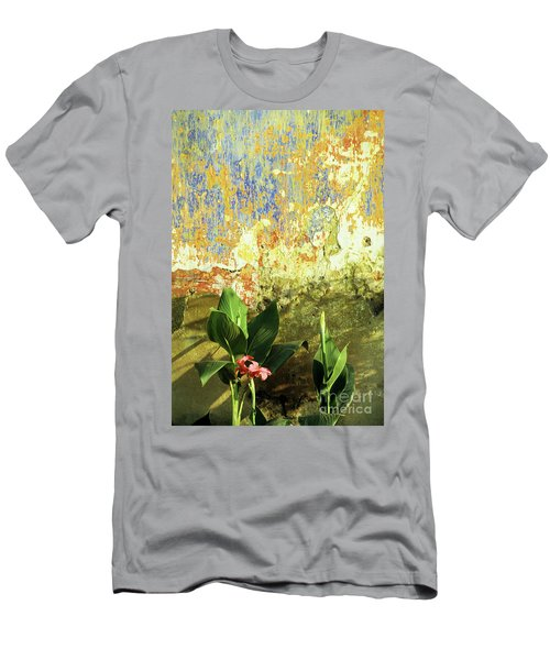Weathered Wall 01 Men's T-Shirt (Athletic Fit)