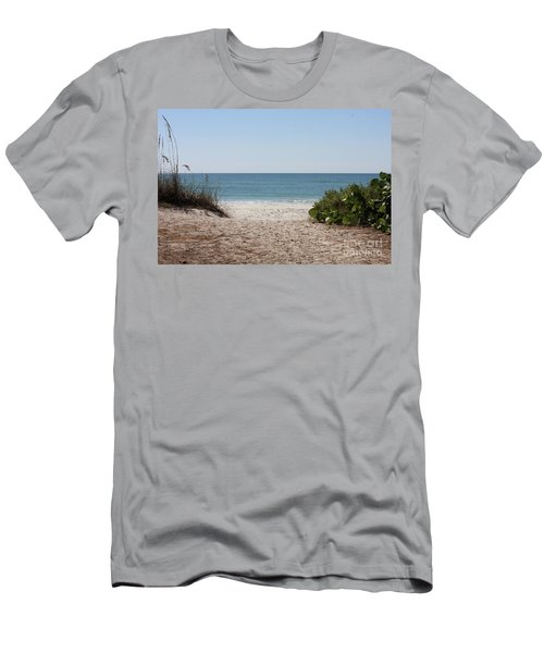 Welcome To The Beach Men's T-Shirt (Athletic Fit)