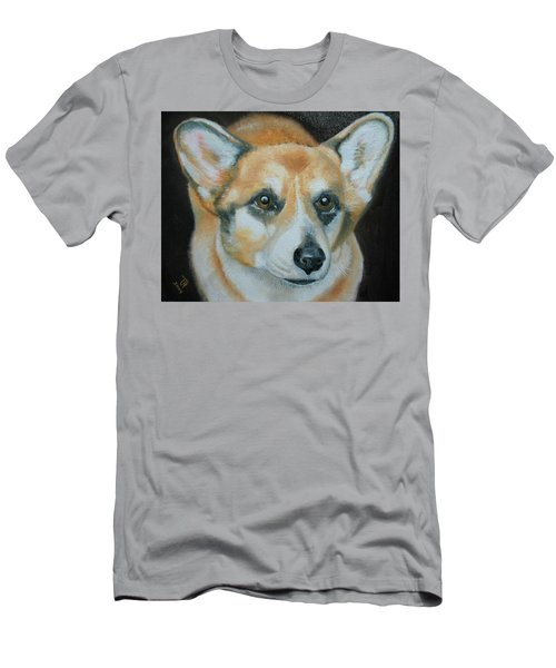 Welsh Corgi Men's T-Shirt (Athletic Fit)