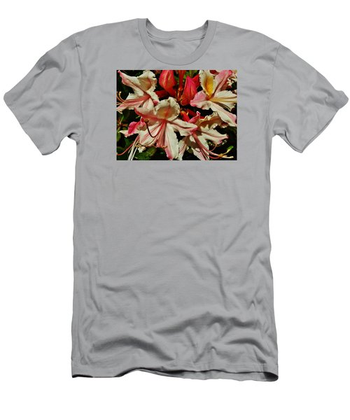 Men's T-Shirt (Slim Fit) featuring the photograph Western Azalea by VLee Watson