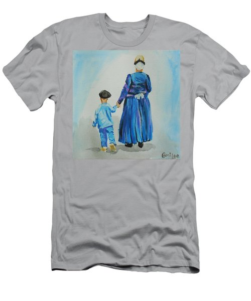 Westfriese Woman And Boy Men's T-Shirt (Athletic Fit)