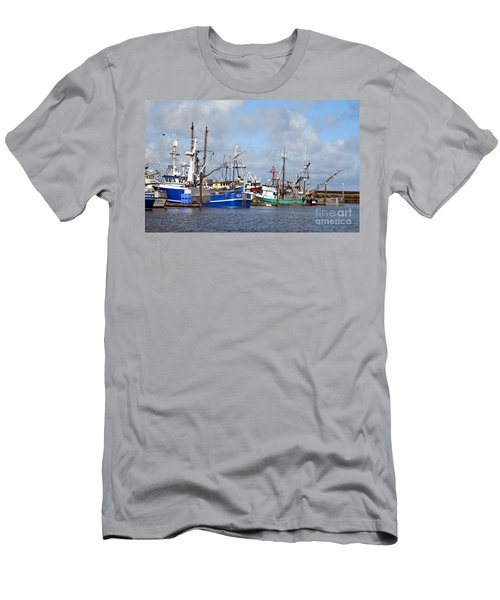 Westport Fishing Boats 2 Men's T-Shirt (Athletic Fit)