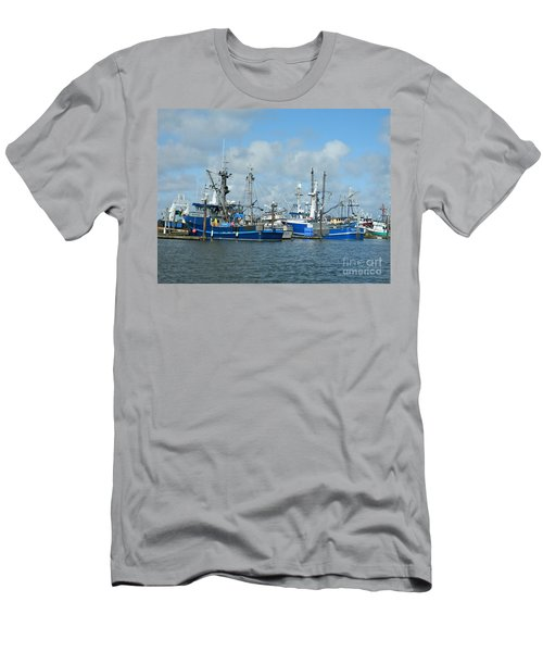 Westport Fishing Boats Men's T-Shirt (Athletic Fit)