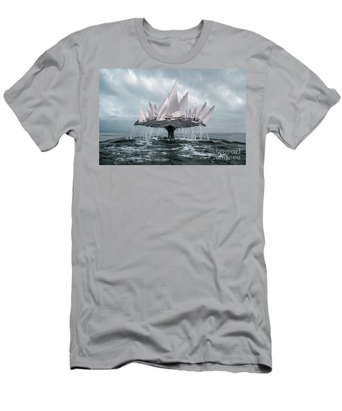 Whale Men's T-Shirt (Athletic Fit)