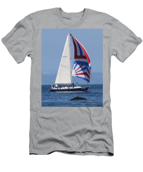 Whale Watching 1 Men's T-Shirt (Athletic Fit)