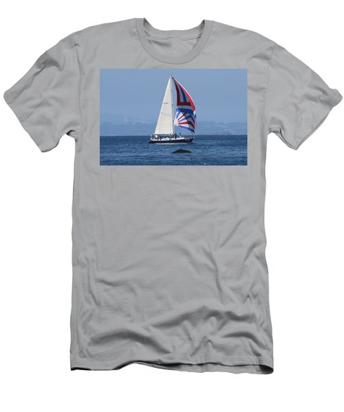Whale Watching 2  Men's T-Shirt (Athletic Fit)