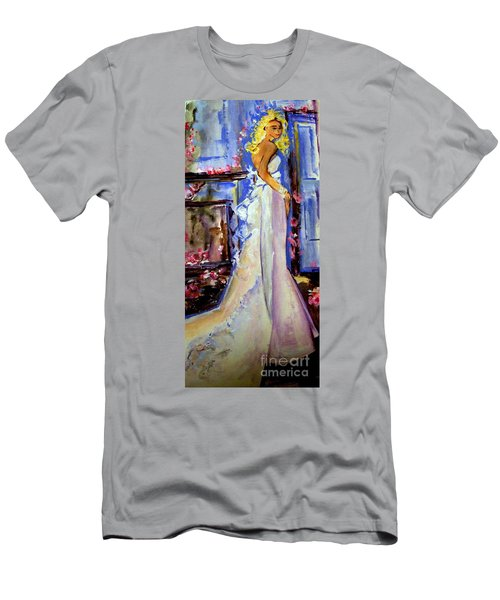 When Lovely Women Men's T-Shirt (Slim Fit) by Helena Bebirian