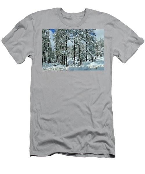 Whispering Snow Men's T-Shirt (Athletic Fit)