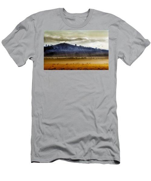 Whisps Of Velvet Rains... Men's T-Shirt (Athletic Fit)