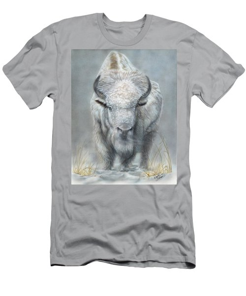 White Buffalo Men's T-Shirt (Athletic Fit)