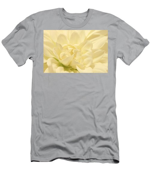 White Dahlia Dreams Men's T-Shirt (Athletic Fit)