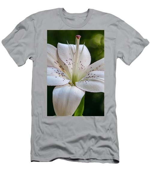 White Lily Men's T-Shirt (Athletic Fit)
