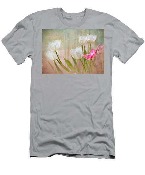 White Lily Show Men's T-Shirt (Athletic Fit)