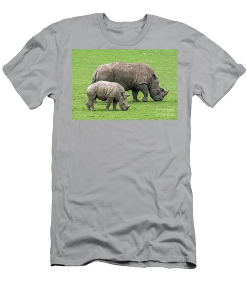 White Rhino 8 Men's T-Shirt (Athletic Fit)