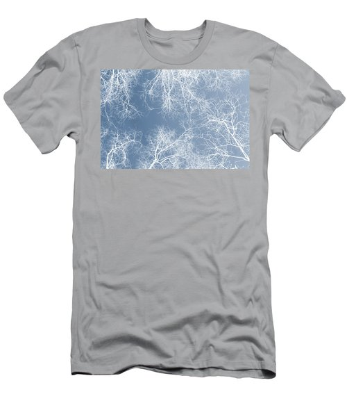 White Trees  Men's T-Shirt (Athletic Fit)