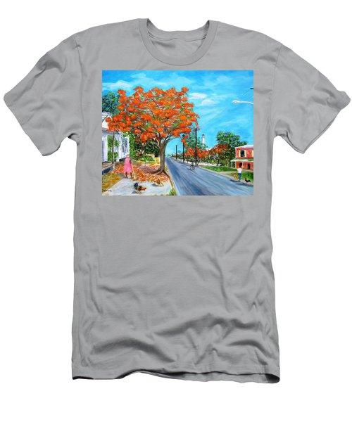 Whitehead Street Men's T-Shirt (Athletic Fit)