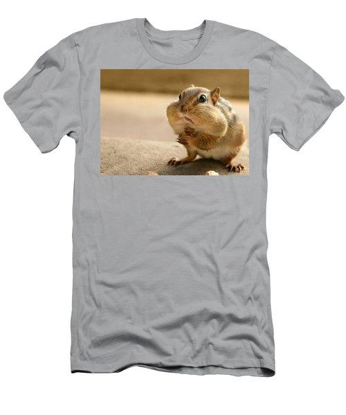 Who Me Men's T-Shirt (Slim Fit) by Lori Deiter