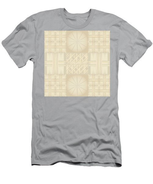 Wicker Quilt Men's T-Shirt (Athletic Fit)