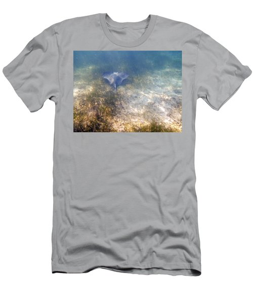 Men's T-Shirt (Slim Fit) featuring the photograph Wild Sting Ray by Eti Reid