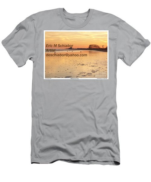 Wildwood Sunset Men's T-Shirt (Athletic Fit)