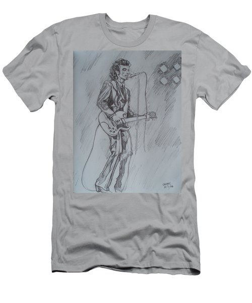 Mink Deville - Steady Drivin' Man Men's T-Shirt (Slim Fit) by Sean Connolly