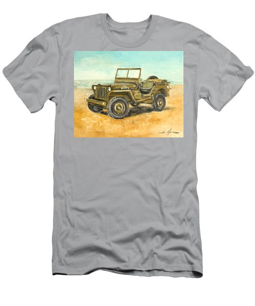 Willys Jeep Men's T-Shirt (Athletic Fit)