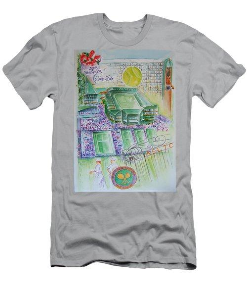 Wimbledon 2014 Men's T-Shirt (Athletic Fit)