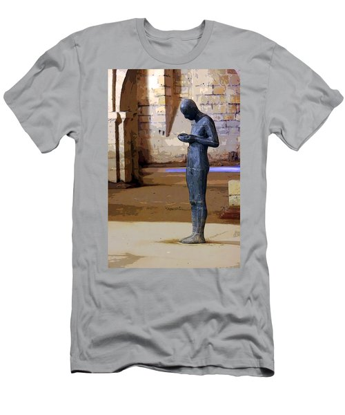 Men's T-Shirt (Athletic Fit) featuring the photograph Winchester Crypt by KG Thienemann