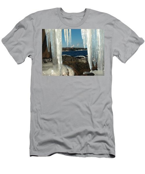 Men's T-Shirt (Slim Fit) featuring the photograph Window Into Minnesota by James Peterson
