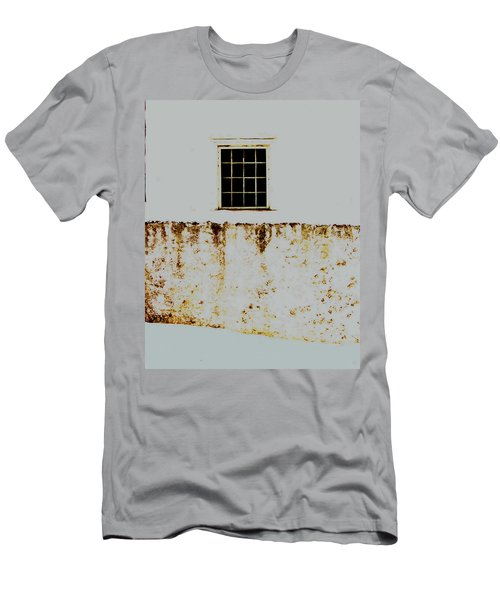 Window Wall And Snow Men's T-Shirt (Athletic Fit)