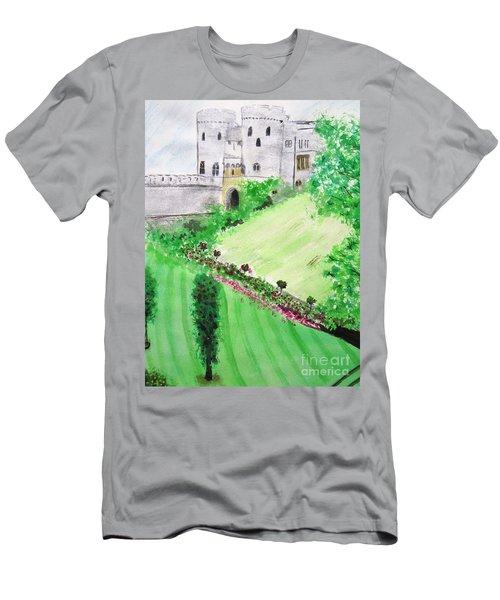 Windsor Castle Men's T-Shirt (Athletic Fit)