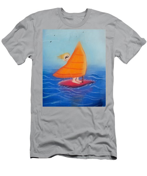 Windsurfer Dude Men's T-Shirt (Slim Fit)