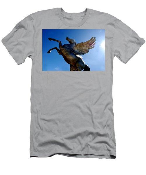 Winged Wonder I Men's T-Shirt (Athletic Fit)