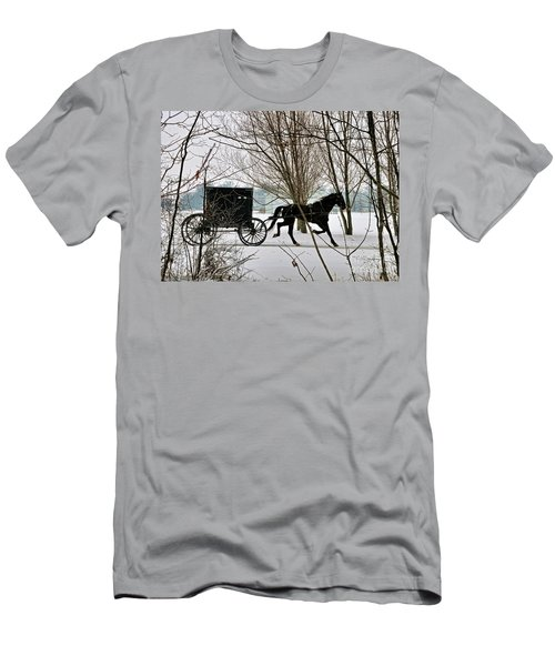 Winter Buggy Men's T-Shirt (Athletic Fit)