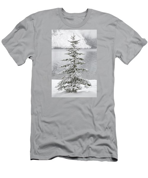 Winter Decor Men's T-Shirt (Slim Fit)