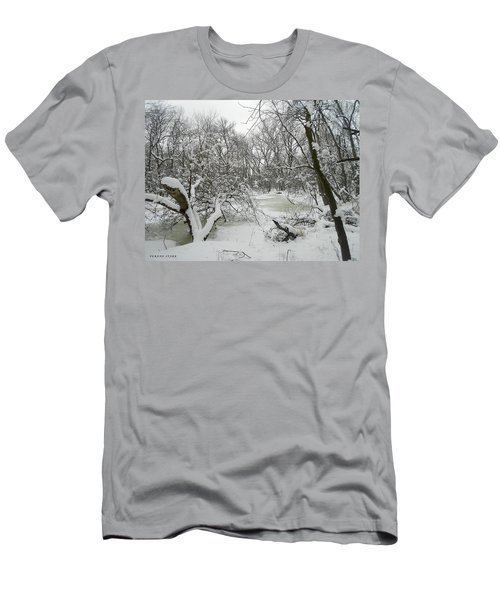 Winter Forest Series 3 Men's T-Shirt (Athletic Fit)