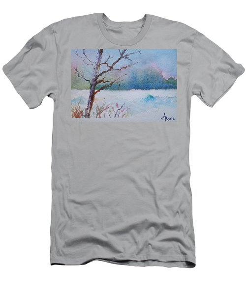 Winter Loneliness Men's T-Shirt (Athletic Fit)