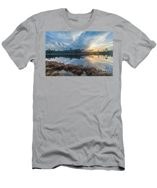 Winter Reflection-1 Men's T-Shirt (Athletic Fit)