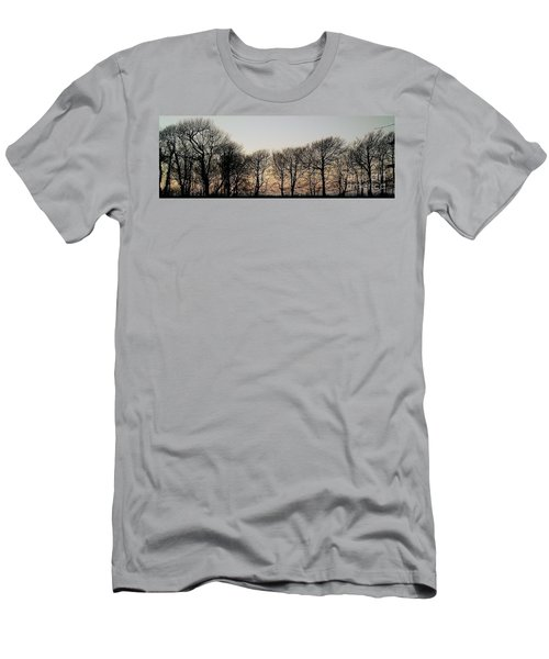 Winter Skyline Men's T-Shirt (Athletic Fit)