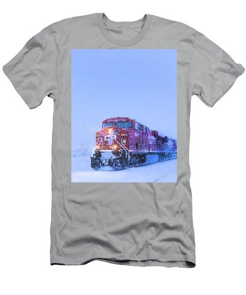 Winter Train 8811 Men's T-Shirt (Athletic Fit)