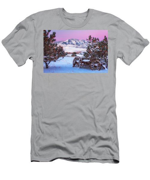 Winter Wagon Men's T-Shirt (Athletic Fit)